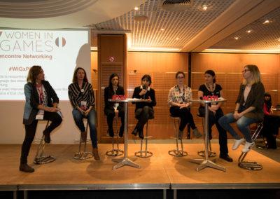 Panel intervenantes WIG@PGW 2017