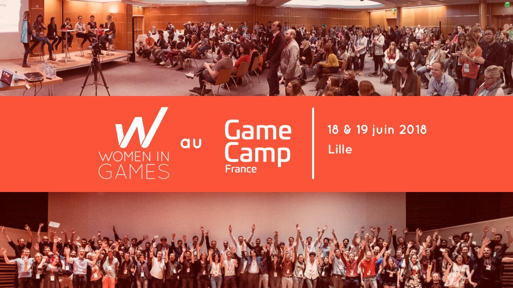 Newsletter Juin : Atelier et rencontre au Game Camp, conférence e-sport… toutes nos actualités