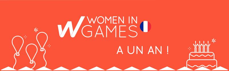 🎂 Un an de Women in Games France : MERCI !