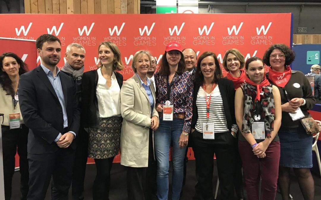 En partenariat avec le SELL, Women in Games à la Paris Games Week – Retour sur l'événement