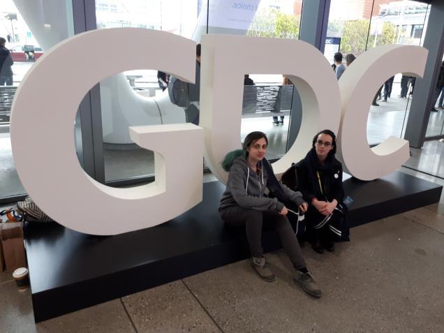 Retour sur l'aventure GDC 2019 pour Héline, Jeanne et Anais !