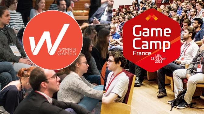 Le programme WIG au Game Camp : atelier prise de parole et rencontres !