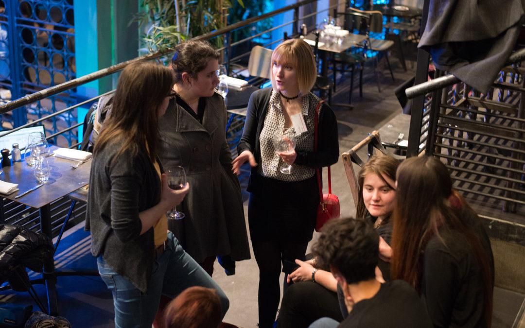 Franc succès pour la première édition Lyonnaise des rencontres networking WIG