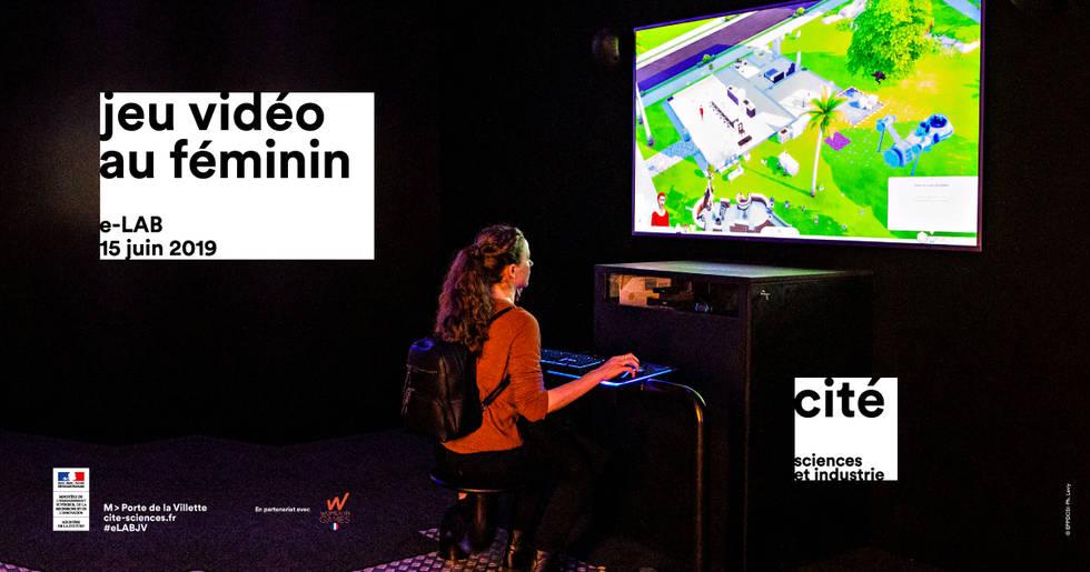 WIG partenaire de l'exposition Jeu vidéo au fémininde l'e-LAB de la Cité des Sciences