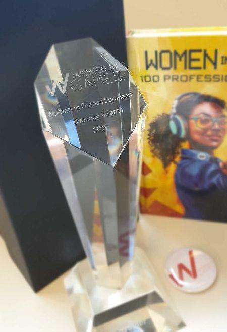 Women in Games France récompensée à la Women in Games European Conference