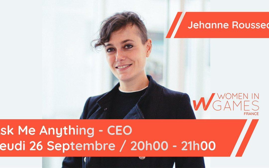 Ask me Anything – Métier dirigeante de studio avec Jehanne Rousseau
