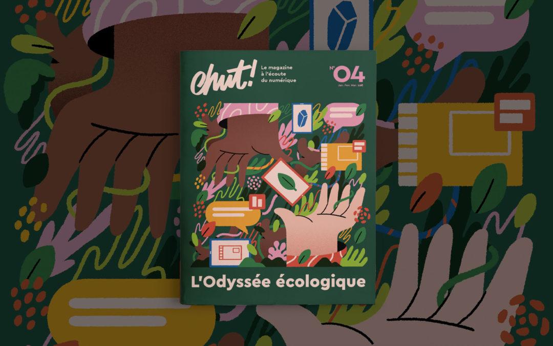 L'Odyssée Écologique : le n°4 du magazine Chut !