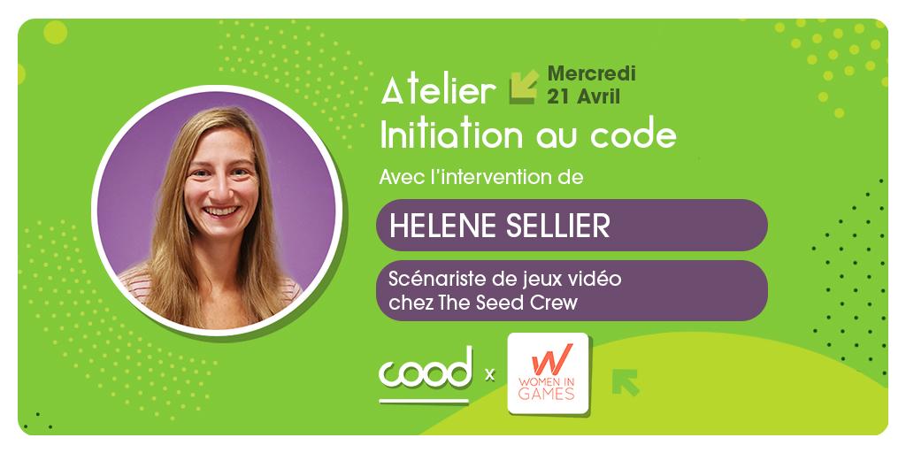 2ème édition de notre atelier d'initiation au code avec COOD !