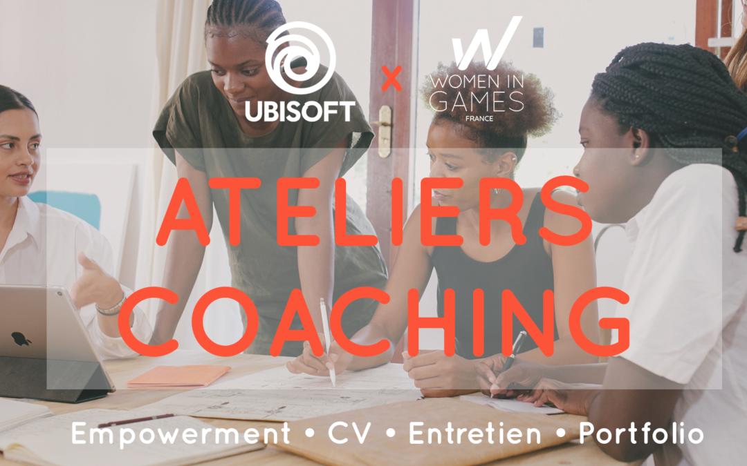 Annonce du prochain Atelier Coaching avec Ubisoft