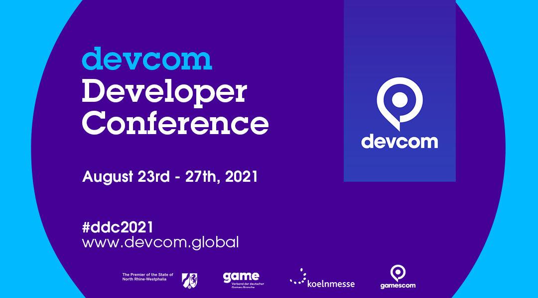 5 places offertes pour la devcom Developer Conference 2021