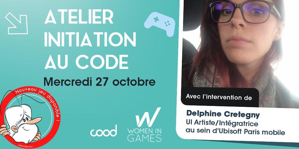 COOD x WIG : Atelier d'initiation à la programmation